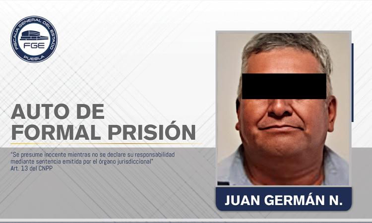 Envían a prisión a sujeto por agredir sexualmente de su hija
