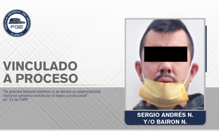 Vinculado a proceso por posesión de cocaína en Tehuacán