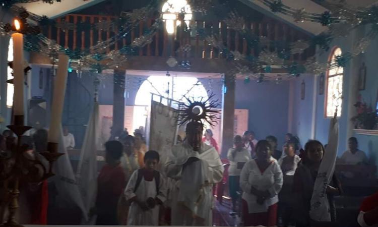 Saquean Capilla en Santiago Alseseca