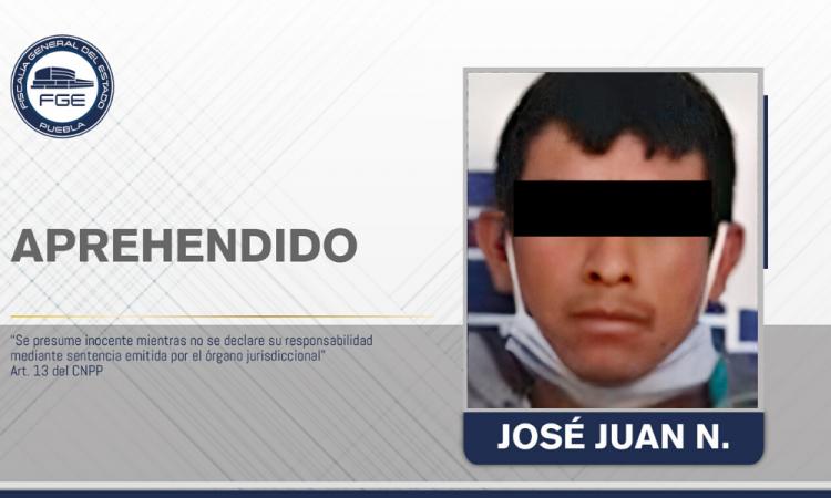 Aprehendido por homicidio en Tehuacán