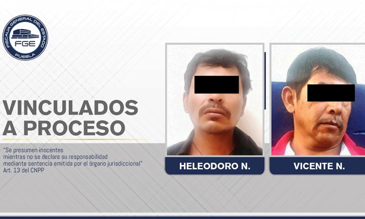 Vinculación a proceso a dos integrantes de una banda delictiva de Tehuacán