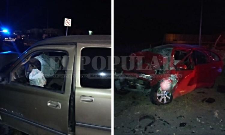 Choque de autos en Puebla-Tehuacán deja dos muertos y un herido