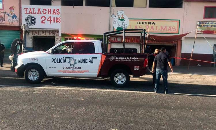 Fallece por atragantamiento en la calle de Ciudad Serdán