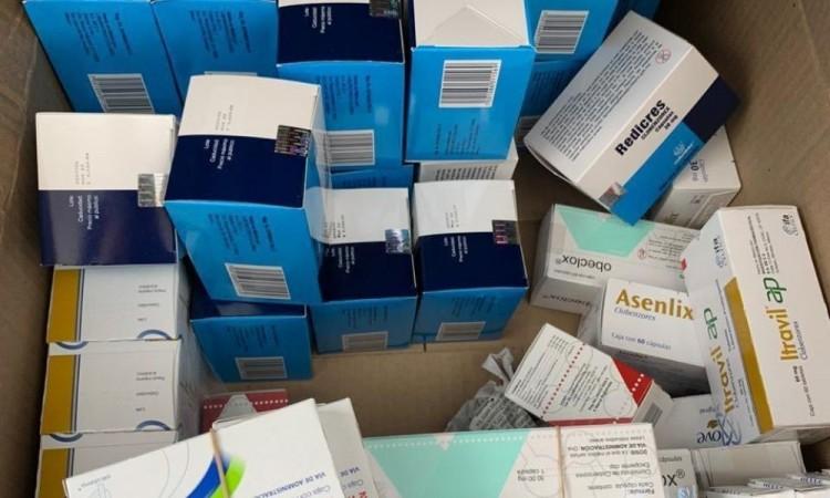 Detienen a hombre con 8 mil 520 pastillas psicotrópicas