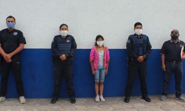 Localizan a menor de edad, reportada como desaparecida en Tlaxcala