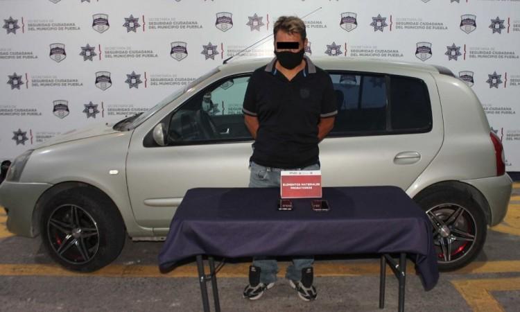 Detienen a asaltante de negocios en Arboledas de Loma Bella