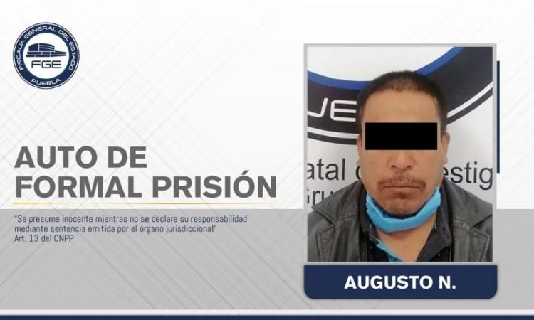 Dictan formal prisión contra presunto homicida