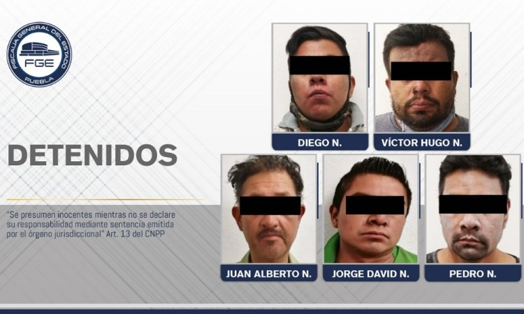 Detienen a banda de secuestradores en Nealtican
