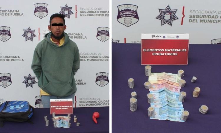 Detienen a sujeto por robo a tienda Elektra en San Andrés