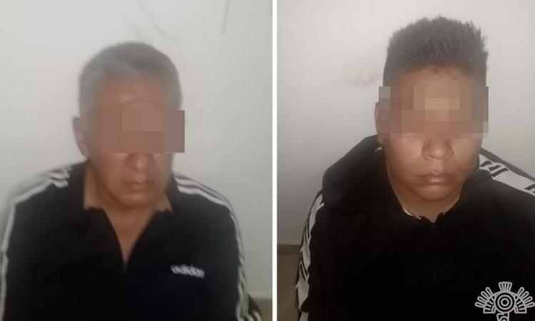 Detienen a dos secuestradores en Huejotzingo