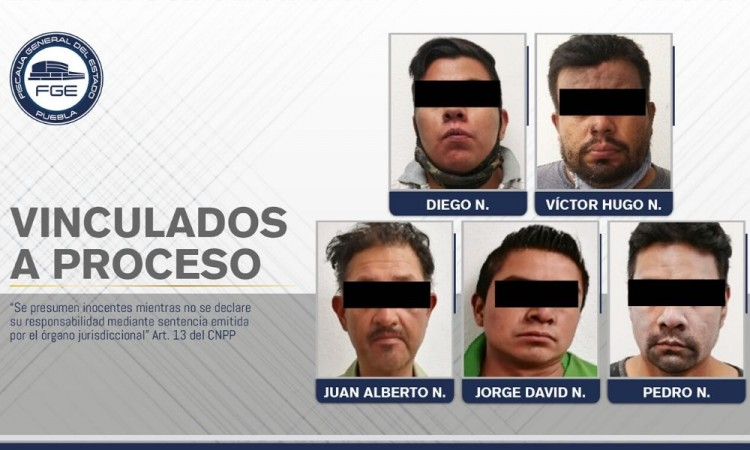 Vinculan a proceso a cinco secuestradores en Nealtican