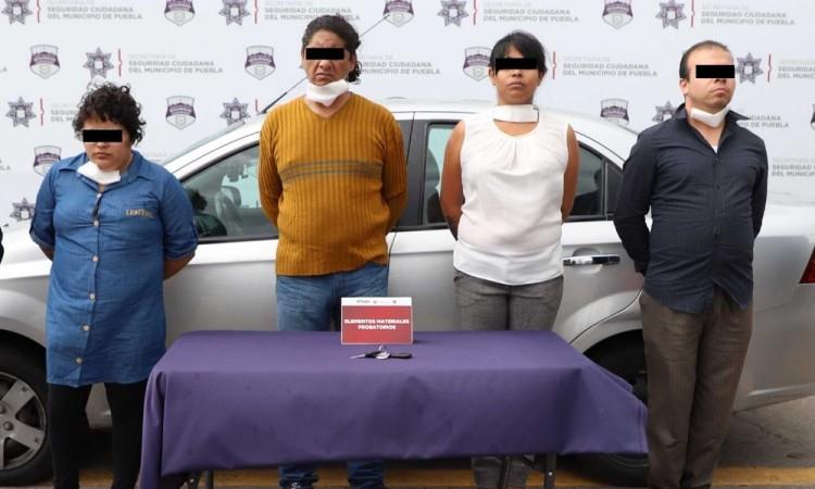 Detienen a cuatro personas por tentativa de robo de vehículo