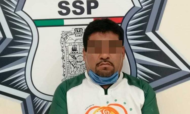 Detienen a narcovendedor de El Pelón en Puebla