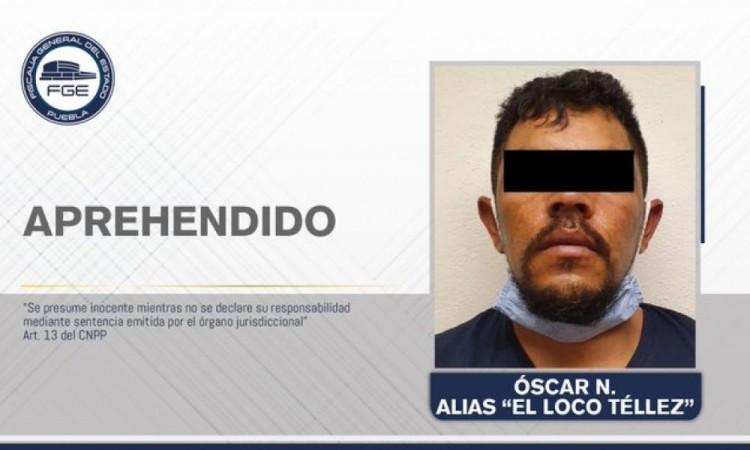 Vinculan a proceso a El Loco Téllez; permanecerá en prisión