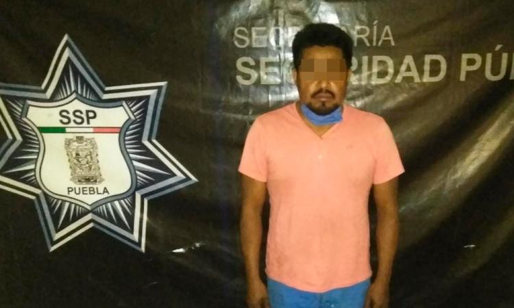 Detienen a narcomenudista en Venustiano Carranza