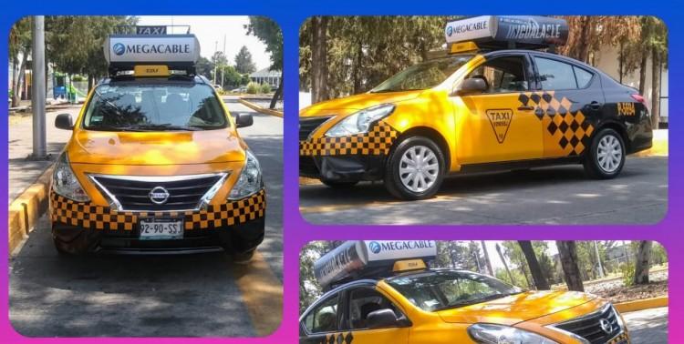 Roban dos autos a conductores de taxi y Uber