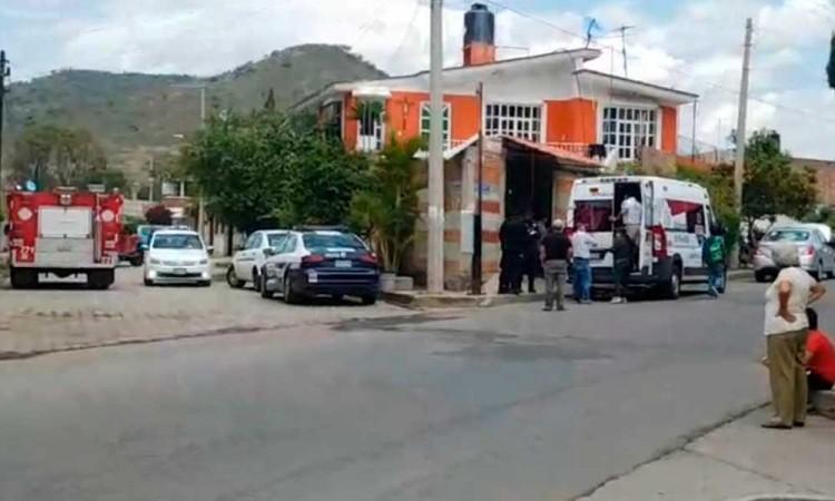 Un joven resulta electrocutado tras labores de albañilería en Atlixco