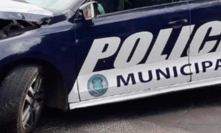 Por segundo día consecutivo, choca patrulla municipal en Puebla