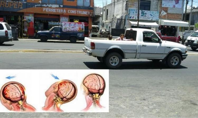 Joven muere al caer de batea de camioneta en movimiento