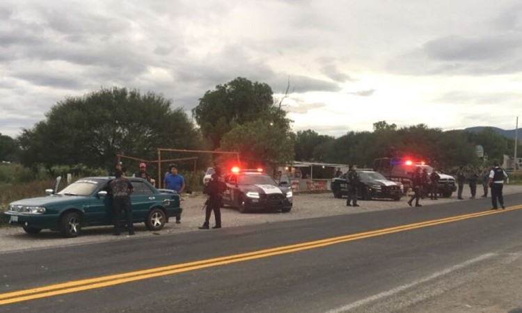 El asalto se registró sobre la carretera federal Puebla-Tehuacán.