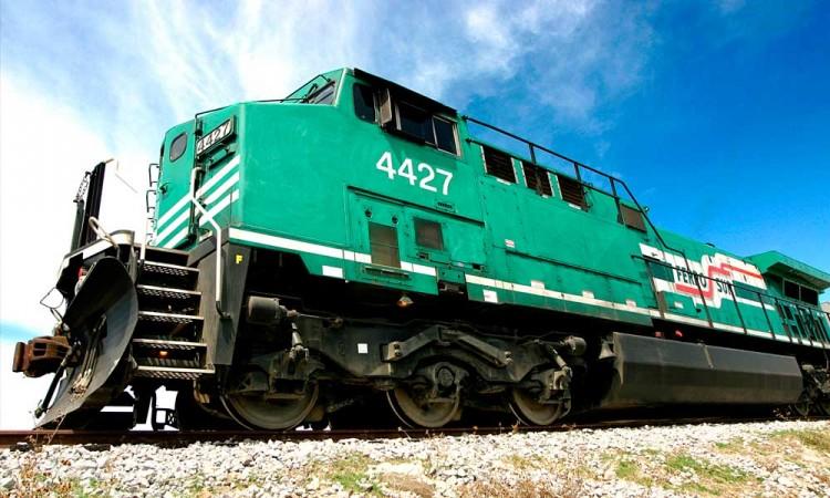 Frustran robo de tren entre los límites de Puebla y Veracruz