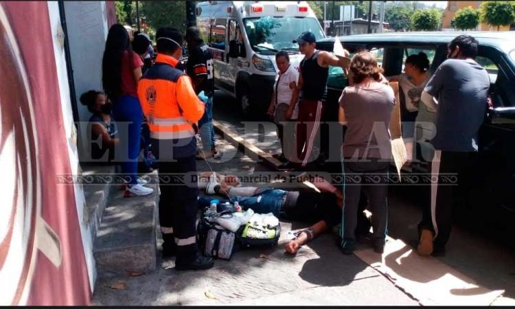 Manejaba moto intoxicado; su pareja embarazada resultó herida