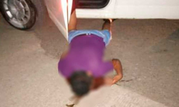Casi lo linchan a chofer por atropellar a una mujer en Huejotzingo