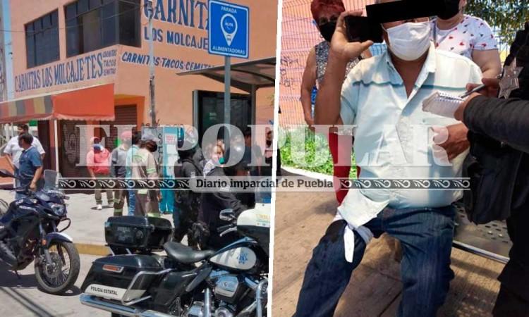 Cobra 200 mil pesos en colonia Tepeyac y lo asaltan con lujo de violencia