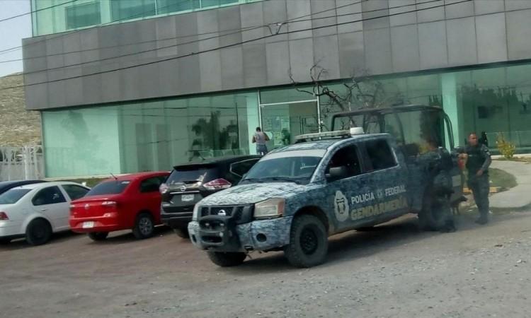 El hecho causó una fuerte movilización policíaca sobre carretera federal Puebla-Tehuacán.