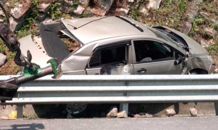 Fallecen madre e hija en accidente vial en la México-Tuxpan