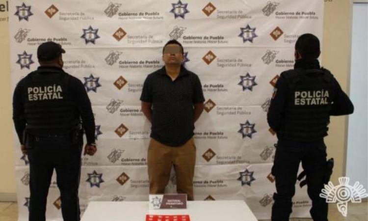 Comercializaba droga en colonias de la junta auxiliar Ignacio Romero Vargas.