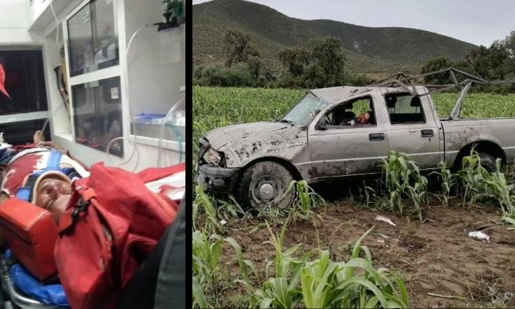 El accidente fue reportado en el trascurso del día martes por varios campesinos.