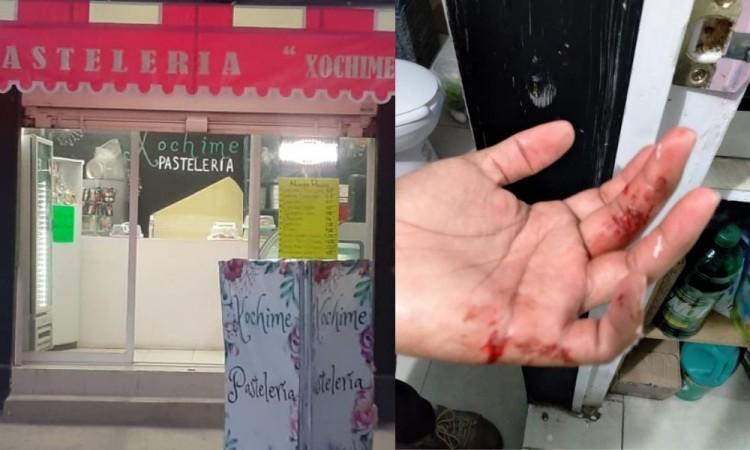 Hieren a Consejera Universitaria BUAP en intento de asalto en San Ramón