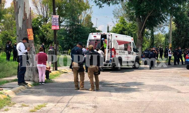 Embarazo provoca balacera en colonia Valle del Sol y dejó a cuatro heridos