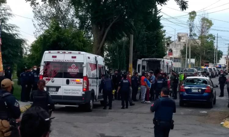 Riña deja dos baleados y heridos en Valle del Sol