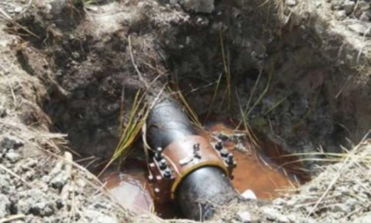 Controlan fuga de gas clandestina en Tepeaca