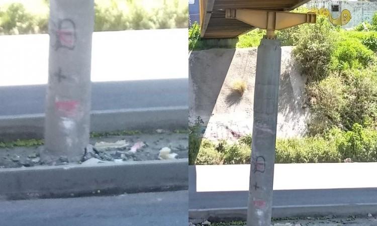 Cierran puente peatonal luego de accidente vehicular en la autopista México-Puebla