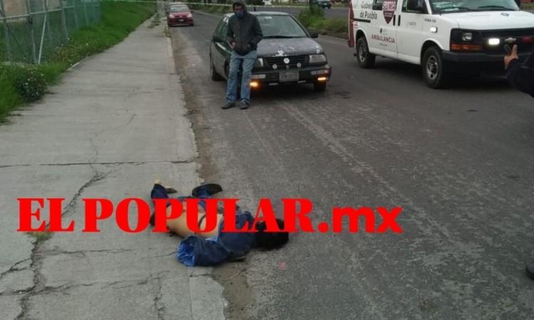 Joven muere arrollado por camioneta cerca del Rastro Municipal