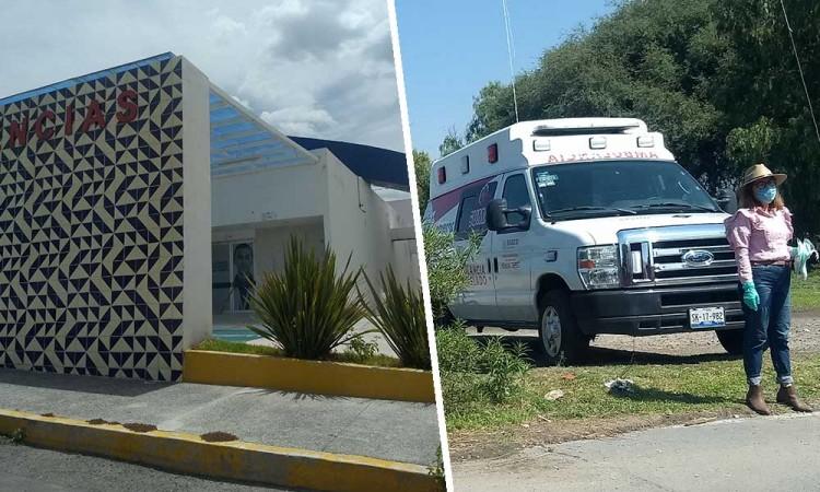 Abandonan a recién nacida en lotes baldíos de Yehualtepec