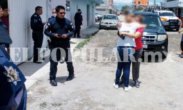 Karla fue atacada con un machete en su cabeza y brazo tras riña familiar