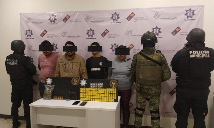 Detienen a banda de narcovendedores en Tehuacán