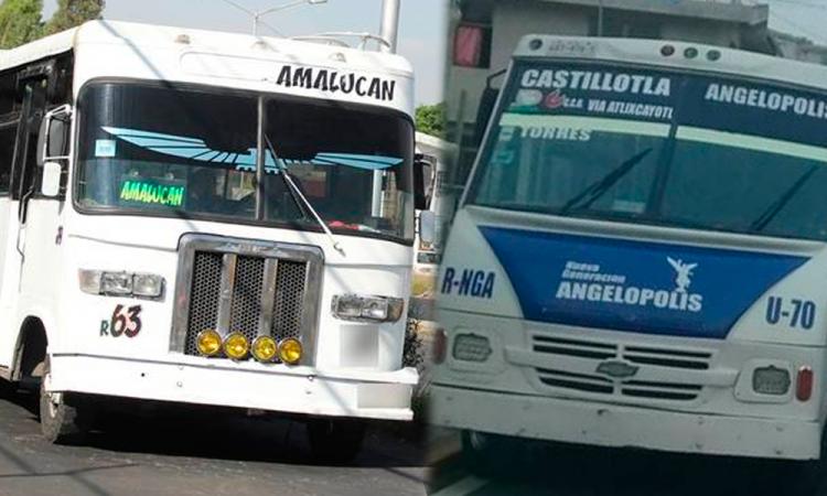 Asaltan a otras dos unidades de transporte Público en Puebla