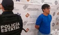 Detienen en Izúcar a narcomenudista que operaba en redes sociales