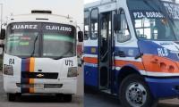 Madrugan delincuentes y asaltan a dos camiones de transporte público en menos de media hora