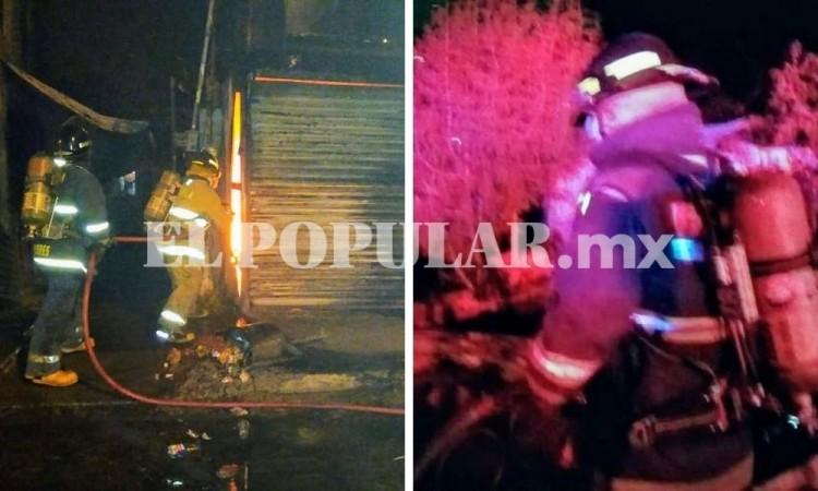 Autoridades sofocan tres incendios; dos negocios y un domicilio