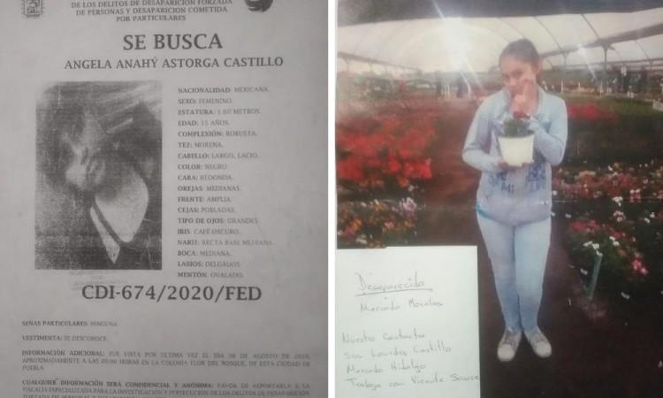 ¡Ayúdanos encontrarla! Angela Anahí desapreció en Flor del Bosque
