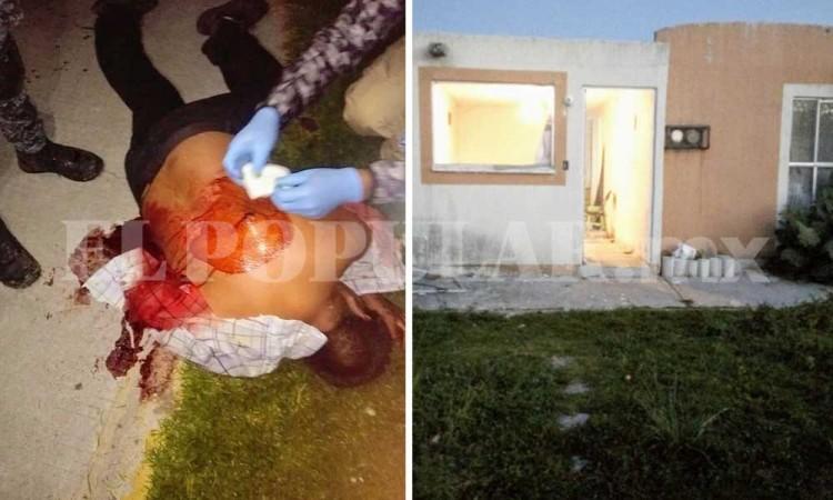 Apuñalan a hombre y golpean a dos menores en riña en Cuautlancingo