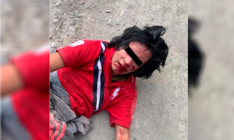 Policías salvan a ladrón de ser linchado en Zozutla