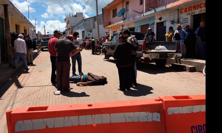 Ejecutado en Chignahuapan a plena luz del día