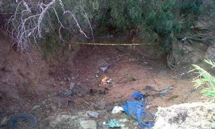 Hallan cuerpo de masculino con narco mensaje en Tepexi de Rodríguez